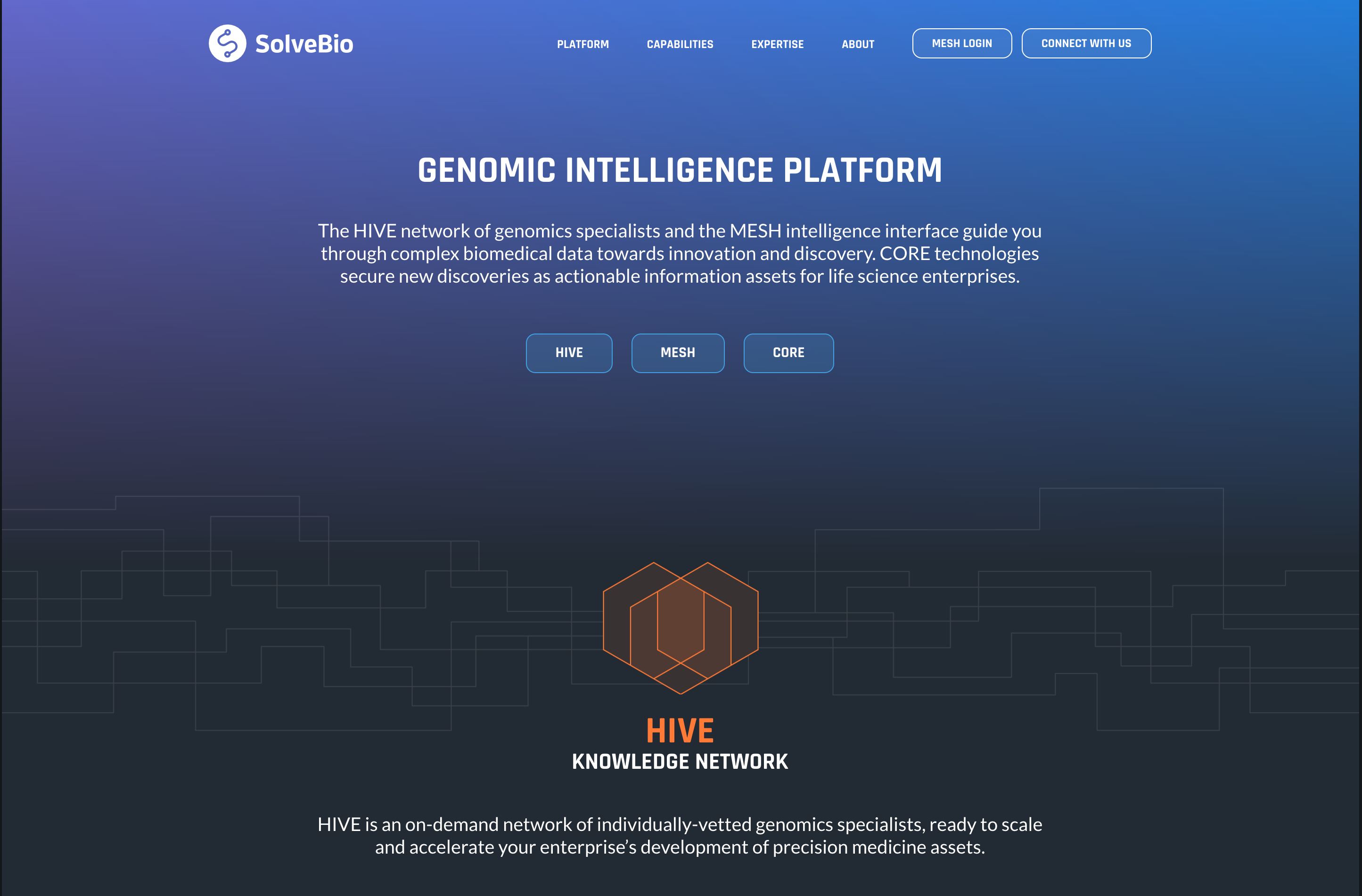 The SolveBio Platform now integrated with even Bridges